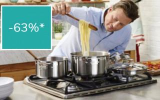 Jamie Oliver Soeppan €29.95. i.pv €79.95