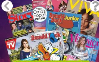 6 weken lang een tijdschrift naar keuze voor