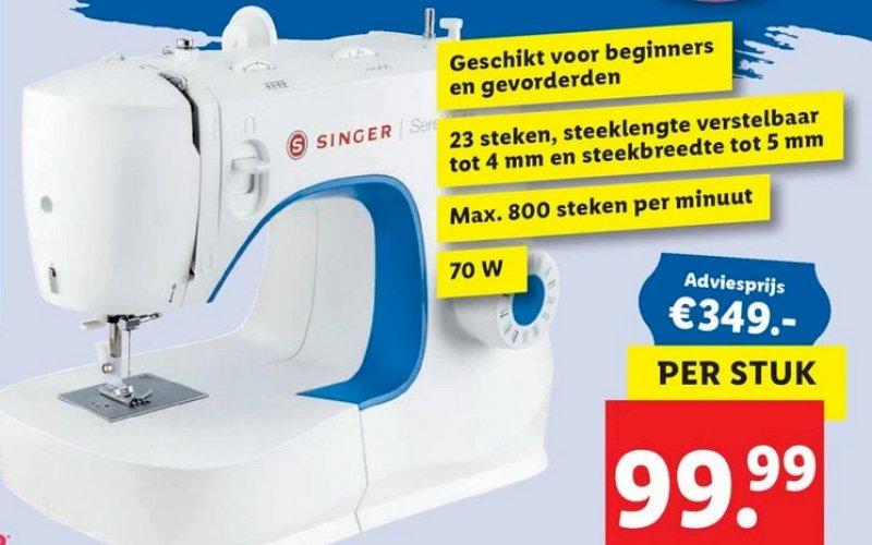 Singer naaimachine voor slechts €99,99