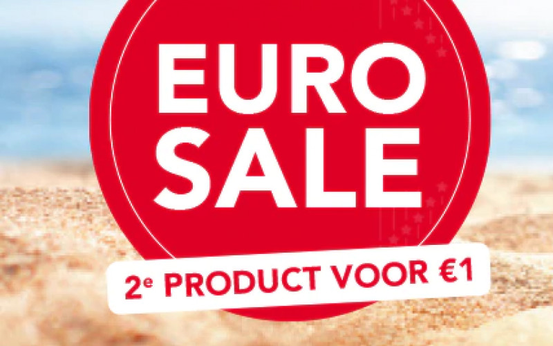 Eurosale: 2e product voor €1