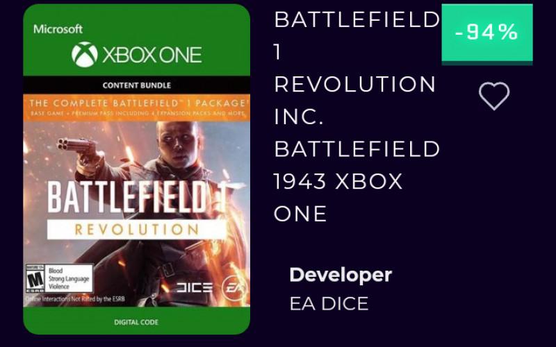 Battlefield Xbox download voor maar €3,39