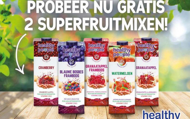 Probeer Gratis Twee Superfruitmixen