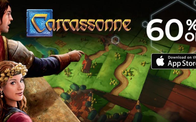 60% Korting op Carcasonne voor iPad en iPhone!