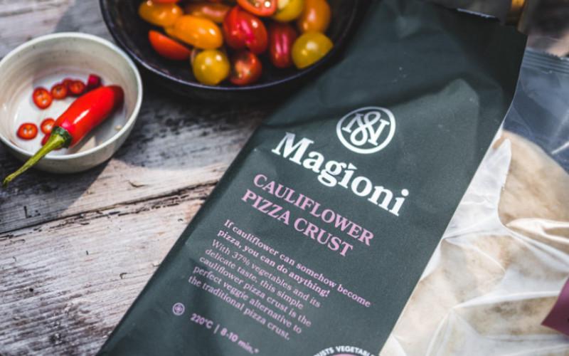 Gratis Magioni bloemkool of courgette pizzabodem!