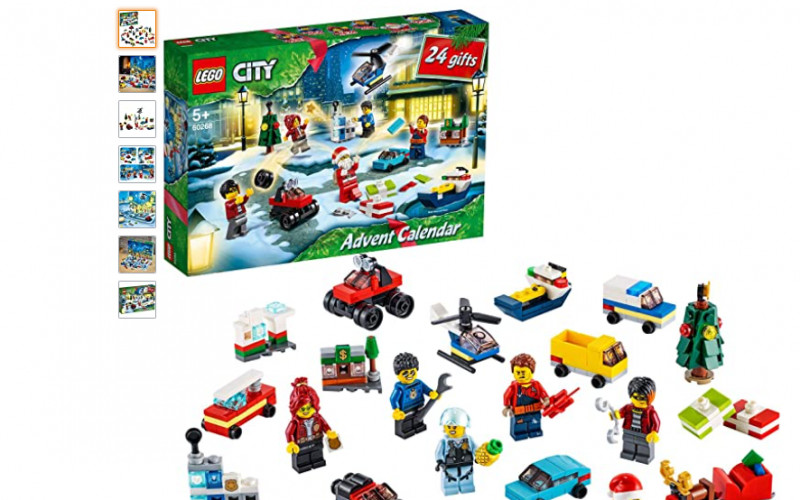 LEGO® City adventkalender 60268 met City speelmat