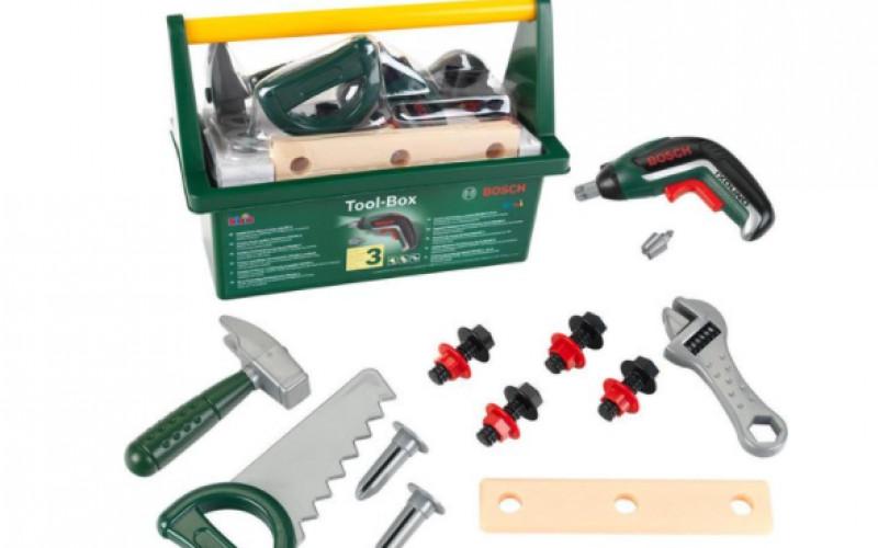 Bosch Speelgoed met Accuschroevendraaier   -55%
