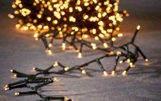 Luca Lighting lichtsnoer - 20m - 1000 lampjes warm wit