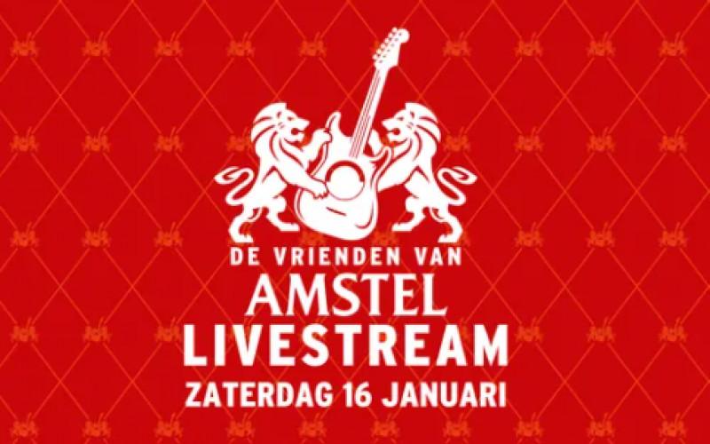 16 januari   De Vrienden van Amstel Livestream