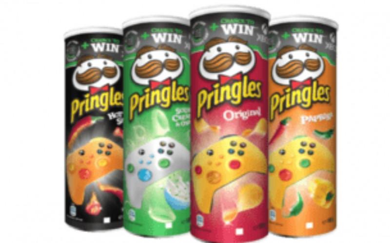 Pringles alle bussen 160-165 gram 1+1 gratis