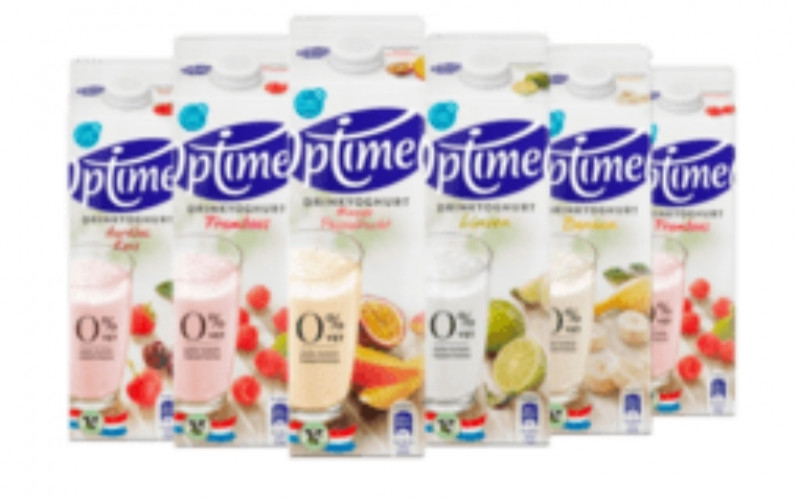 Optimel drinkyoghurt +1 gratis