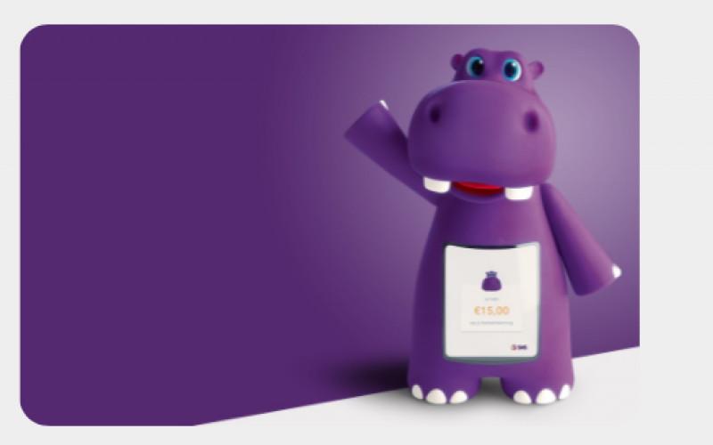 Leuk! Een digitaal spaarnijlpaard voor de kids!
