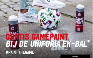Gratis Game Paint twv €6,99 bij de Uniforia EK-bal