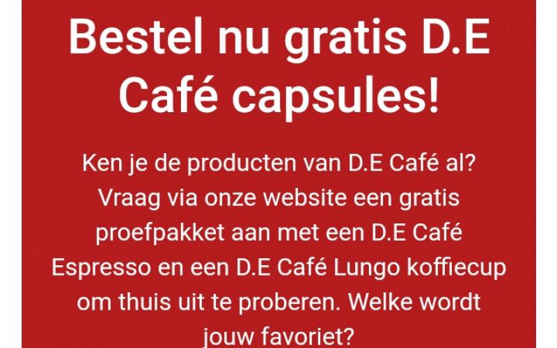 Gratis DE capsules