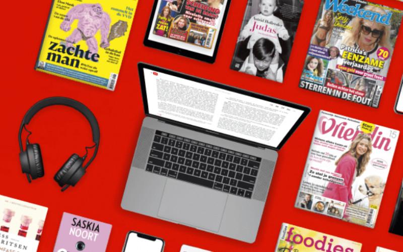 Onbeperkt (luister)boeken en tijdschriften. 1e maand gratis!