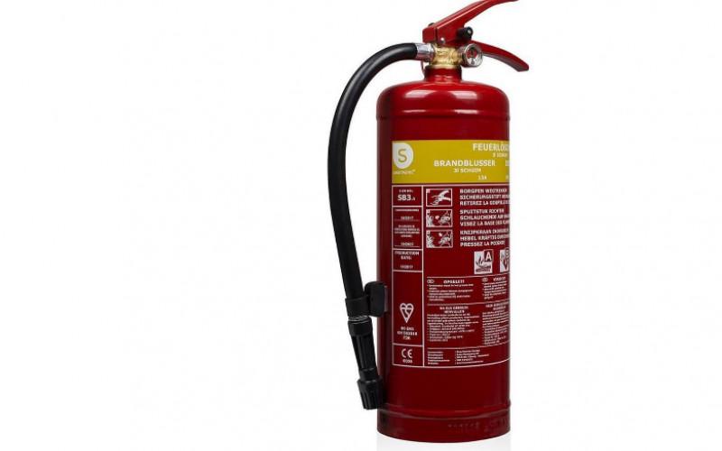 Brandblusser – Schuim – 3 l/kg | Bespaar 38%!