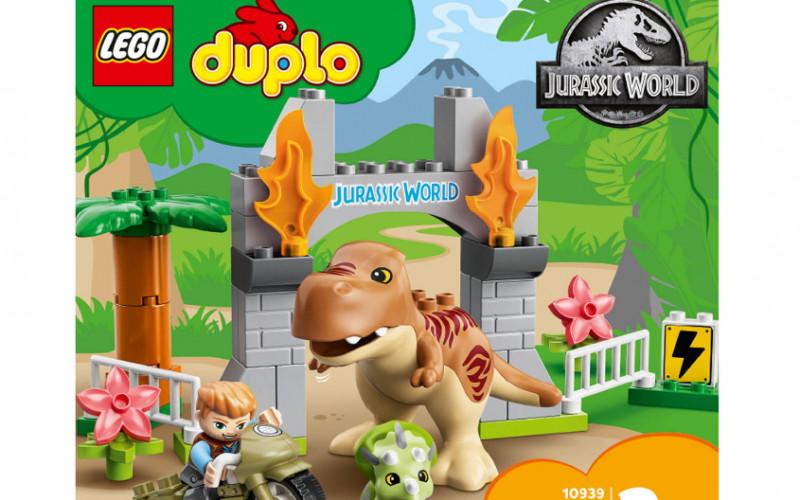 LEGO DUPLO T-Rex en Triceratops   Bespaar 25%!
