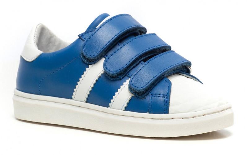 Scapino Groot leren sneakers (blauw) | € 19