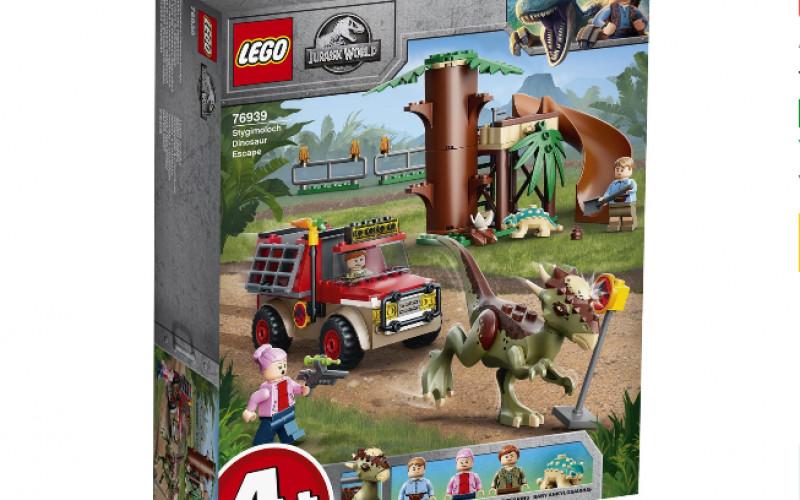 LEGO Jurassic World Stygimoloch Dinosaurus Ontsnapping - 76939   €28,78