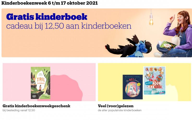 Gratis kinderboek cadeau bij €12,50 aan kinderboeken