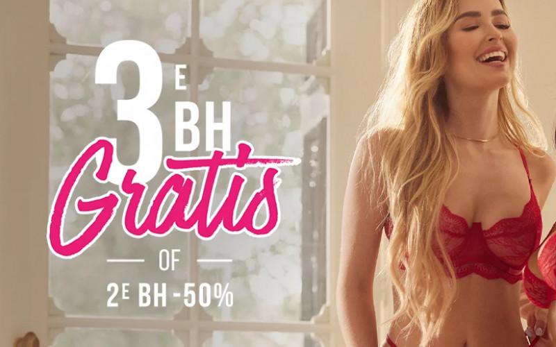 Hunkemöller Bra party   3e Bh Gratis of 2e -50%