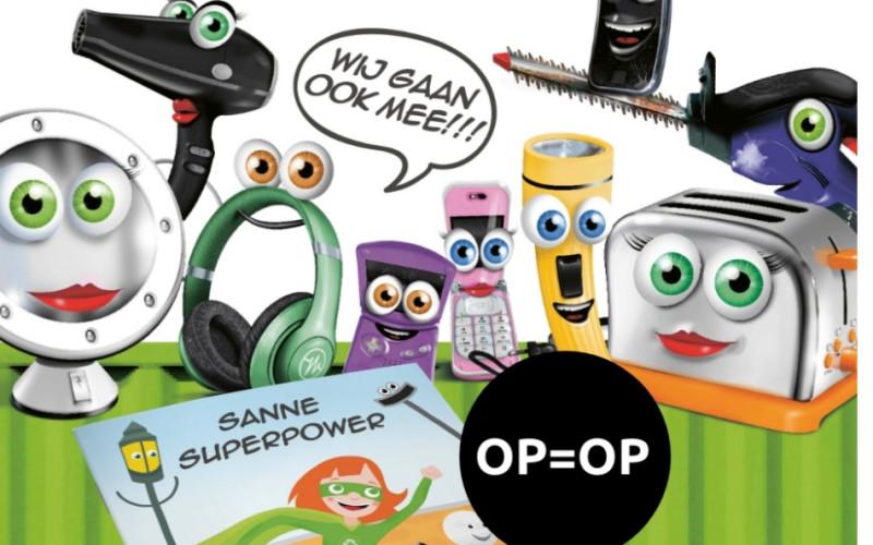 Gratis kinderboek  sanna superpower