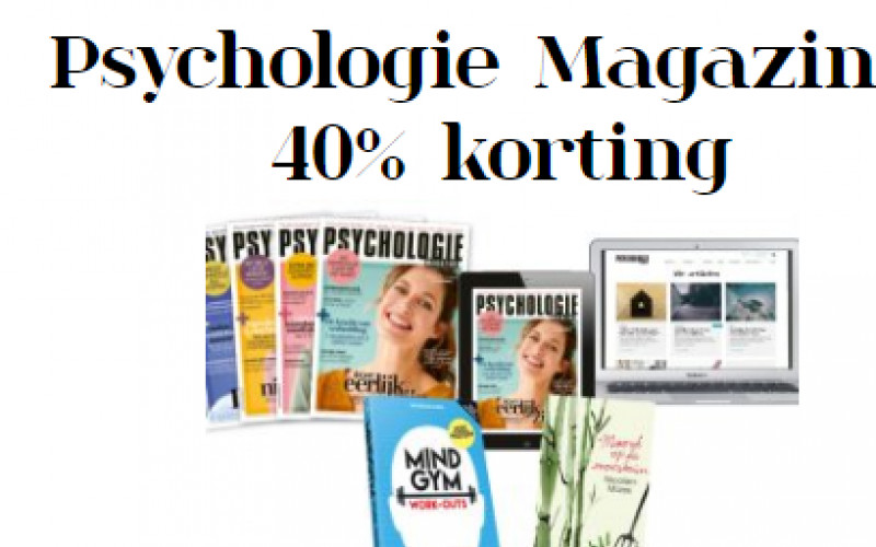 Psychologie Magazine Abonnement Met 40 Korting Needle