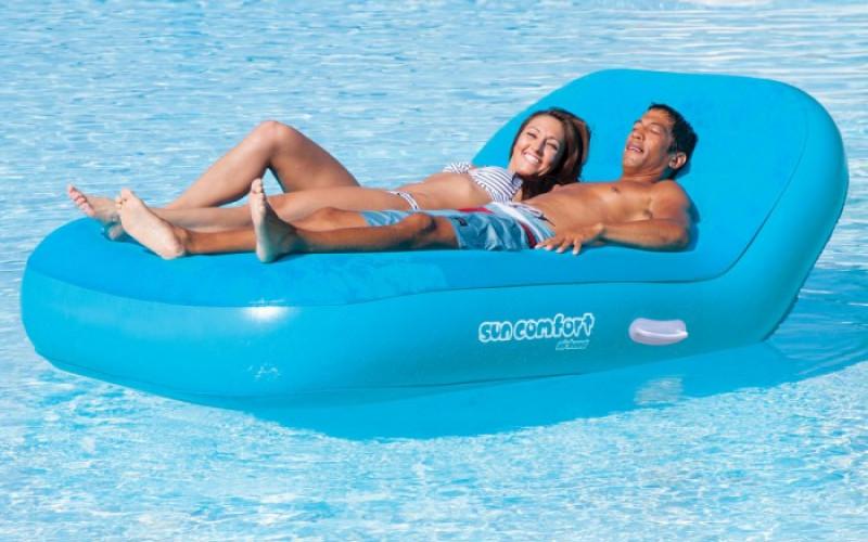 Lounge luchtbed 2 Personen met korting