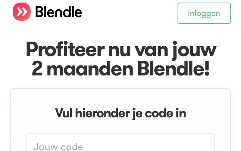 2 maanden gratis Blendle Premium met code: cr2mnd