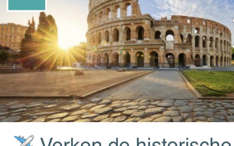 4-daagse vakantie Rome (2p) €139 p.p.