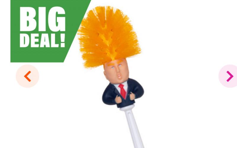 Donald trump toiletborstel