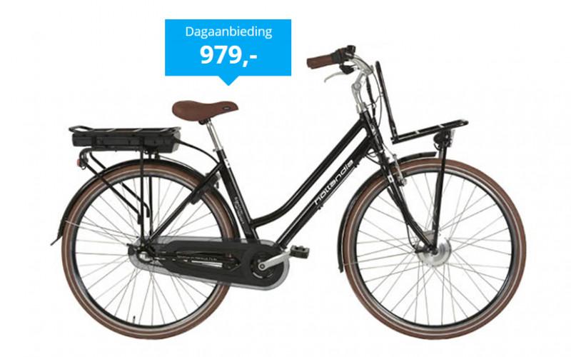 Dagdeal: Hollandia E-bike met 34% korting