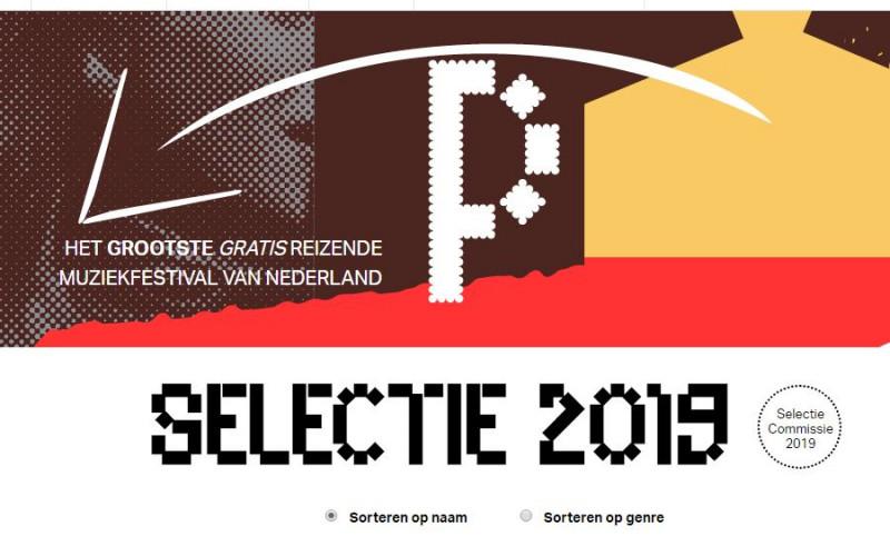 GRATIS Muziekfestival POPRONDE 2019 !