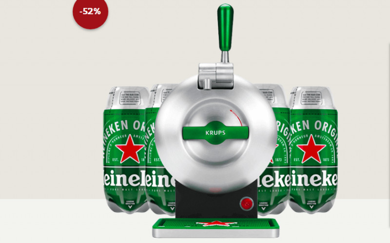 The SUB Heineken Edition + 4 TORPS, voor €109,-