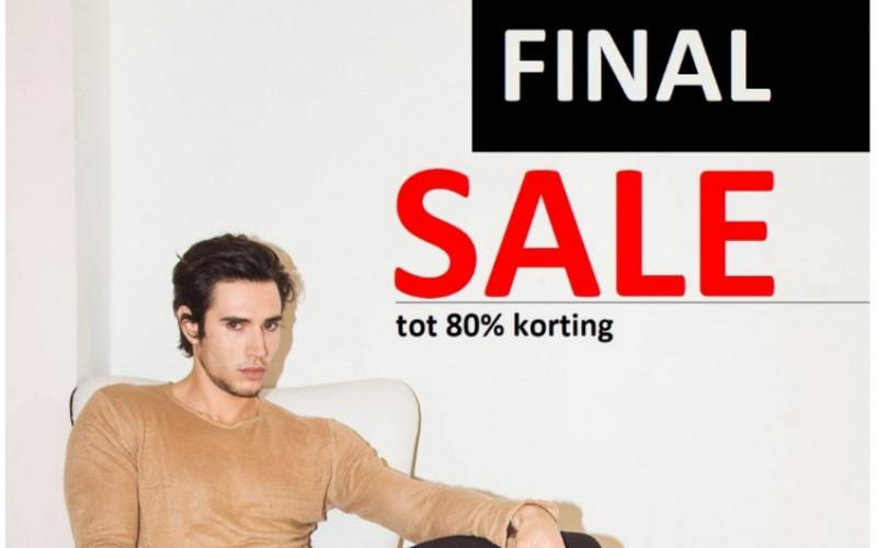 Final Sale bij Black Button met tot 80% korting