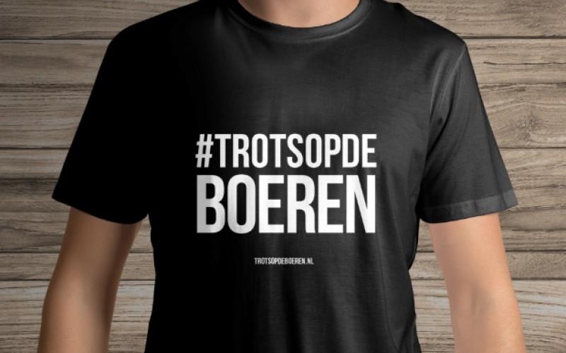 Gratis #trotsopdeboeren shirt