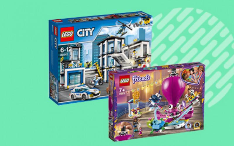 Tot 30% op populaire LEGO sets
