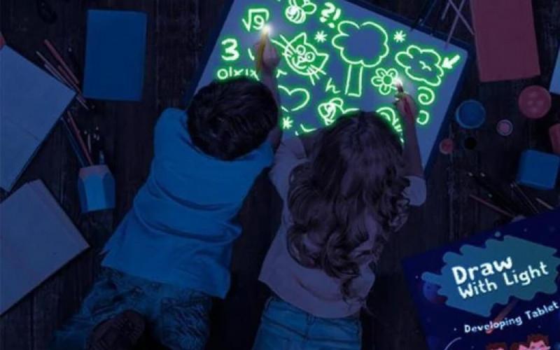 Teken met licht! Creativiteit voor het hele gezin!