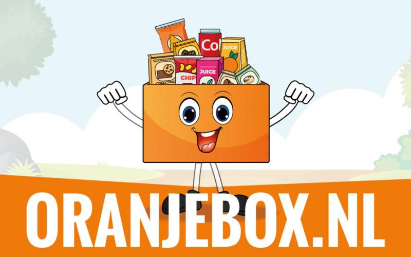 Gratis Oranjebox t.w.v. minimaal 50 euro!