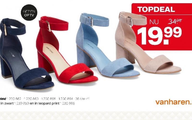 Leuke Sandalette in diverse kleuren !