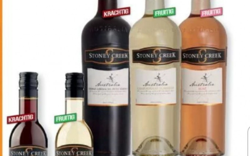 Stoney creek Australische wijn 1+1 gratis