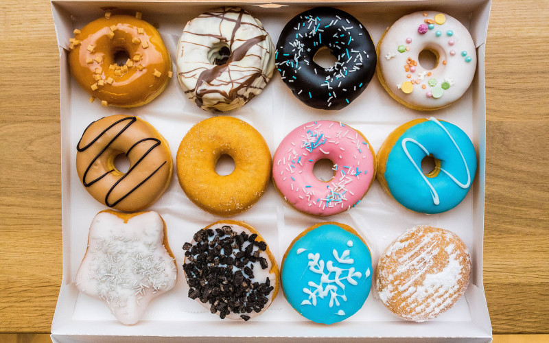 Jaar gratis donuts @Dunkin'Donuts