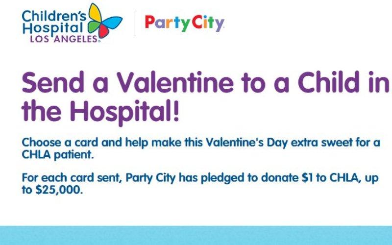 Stuur gratis valentijnskaart naar kind in ziekenhuis