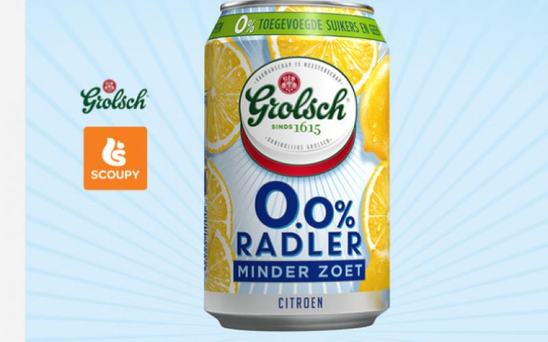 GRATIS Grolsch 0.0% minder zoet