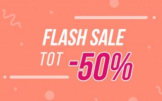Flash Sale | Tot -50% op 350+ items @Hunkemöller